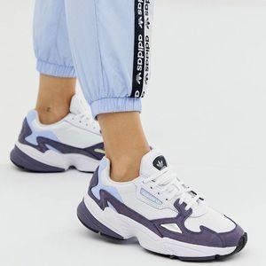 Adidas Originals RYV falcon sneakers in Shady blue